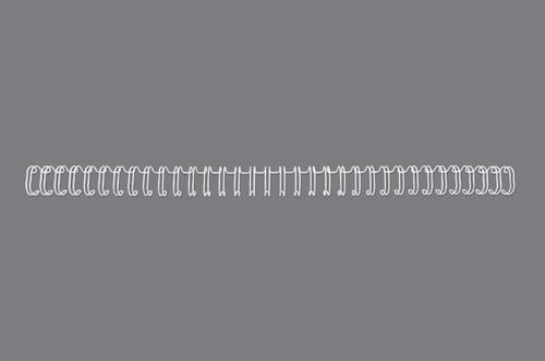 GBC 34 Loop Wire Elements 5mm No3 White 47901E (PK100)