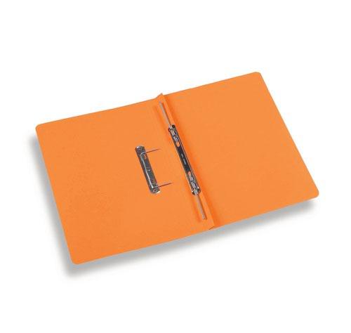 Rexel Jiffex Foolscap Transfer File - Orange (Pack of 50)