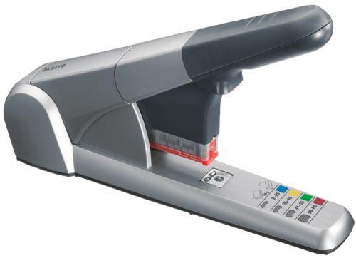 Leitz Heavy Duty Cartridge Stapler Capacity Grey 55510084