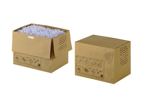 Rexel Recyclable Paper Shredder Bags Auto 250 (Pack 20)