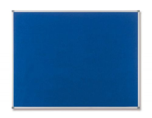 Nobo Classic Blue Felt Noticeboard 900x600mm 1900915