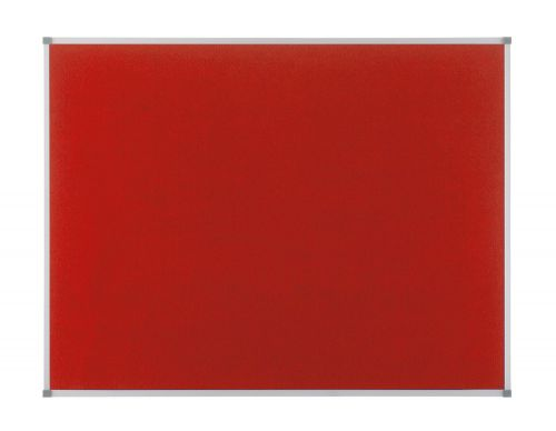 Nobo Classic Red Felt Noticeboard 1200x900mm 1902260