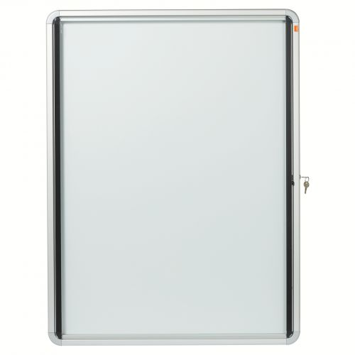 Nobo Glazed Noticeboard Lockable Ext 792x1040mm