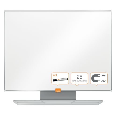 Nobo Prestige Enamel Whiteboard 600x450mm