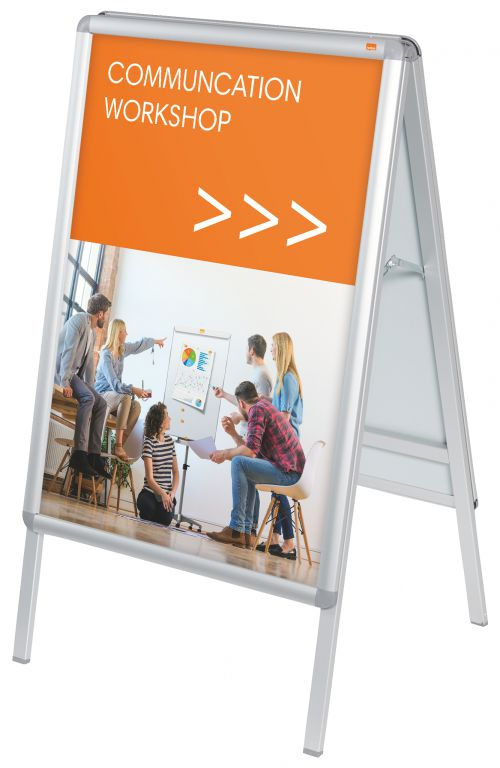 Nobo A-Board Snap Frame Poster Display A1 1902206 Sign Holders NB19360