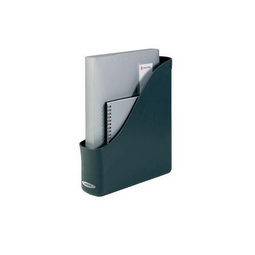 Rexel Agenda2 Magazine Rack File 78x288x305mm Charcoal