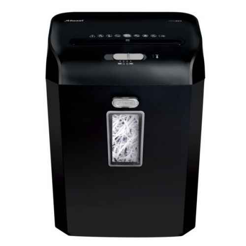Rexel Promax RES823 Strip Cut Paper Shredder, 8 sheet capacity, 23L bin capacity, P2, Black