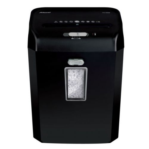 Rexel Promax REX623 Manual Cross Cut Shredder for Personal or Executive Use, 6 sheet capacity, 23L Bin, Extended Run Time, P4, Black