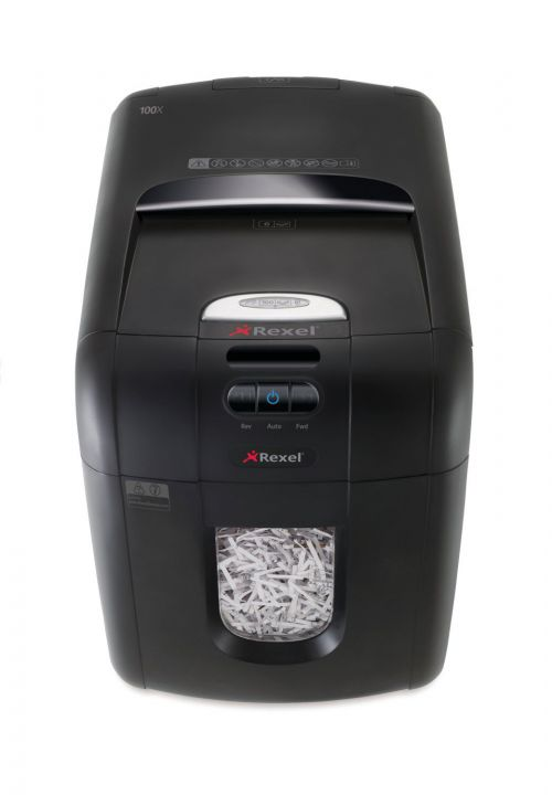 Rexel Auto Plus 130X Cross Cut Shredder (Shreds up to 130 sheets of 80gsm paper) 2102559A