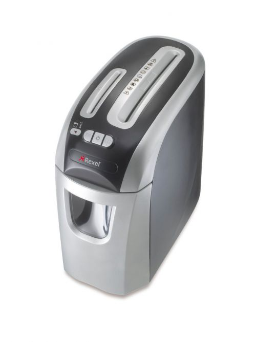 Rexel Prostyle Plus Cross-Cut Shredder Black/Silver 2102563