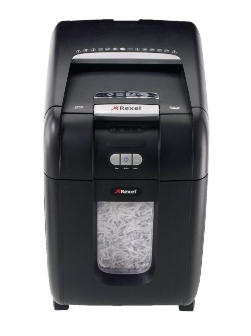 Rexel AutoPlus 200X Shredder Cross Cut P-4 Ref 2103175