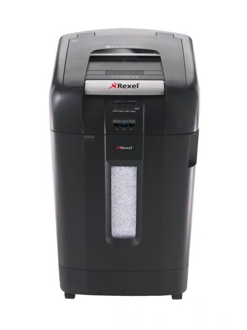 Rexel Auto+ 750M Micro Cut Shredder Black ( Shreds up to 750 sheets of 80 gsm paper) 2104750