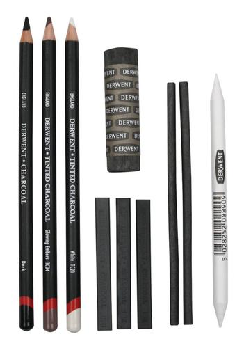 Derwent Charcoal Set - Outer carton of 6