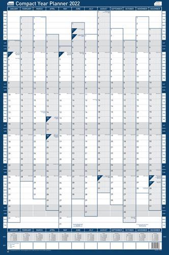 Sasco Year Planner Compact Portrait 2022 2410159