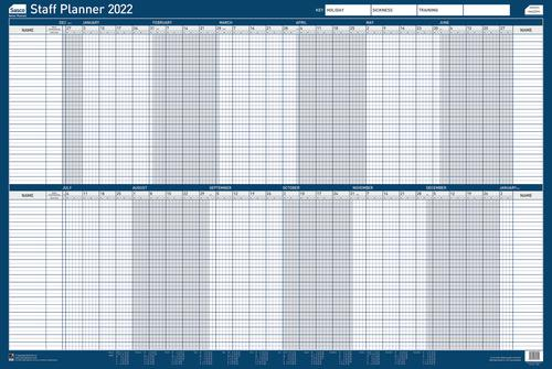 Sasco Staff Planner Mounted 2022 2410166