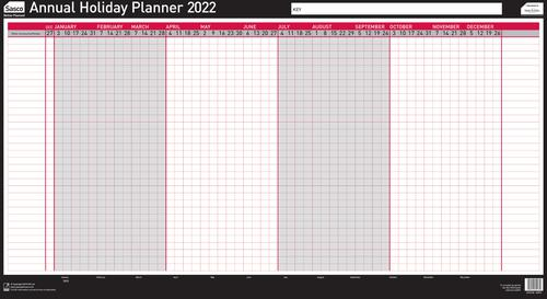 Sasco Holiday Planner Annual 2022 2410168
