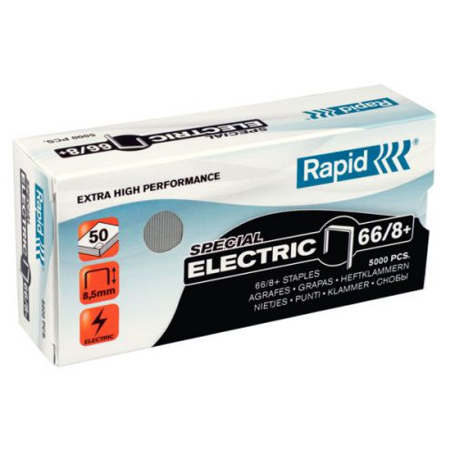 Rapid SuperStrong Staples 66/8+ Electric