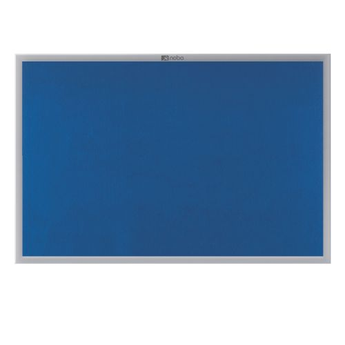 Nobo EuroPlus Blue Noticeboard with Fixings/Frame 900x600mm 30230174