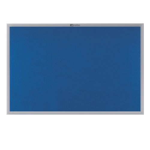 Nobo EuroPlus Blue Noticeboard with Fixings/Frame 1200x900mm 30230175