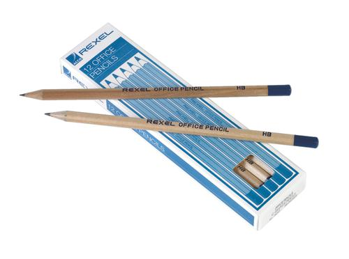 Rexel Office HB Pencils Black - Outer carton of 12