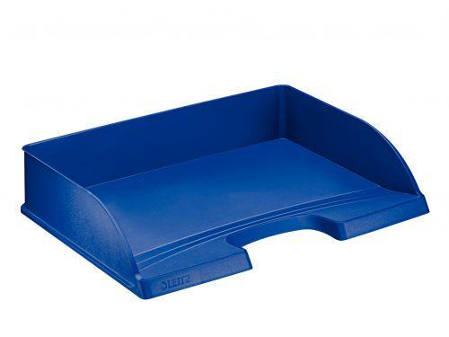 Leitz Plus Landscape Letter Tray A4 - Blue - Outer carton of 5