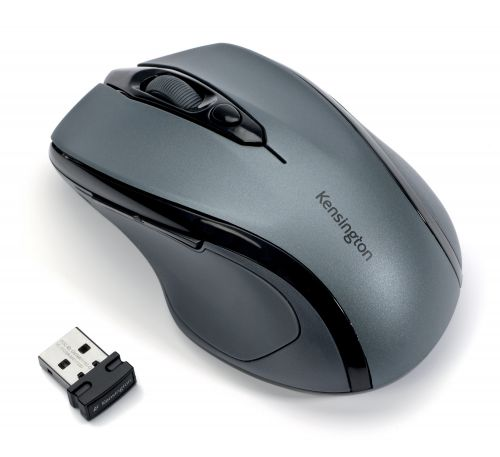 Kensington ProFit Wireless Mobile Mouse Graphite Grey