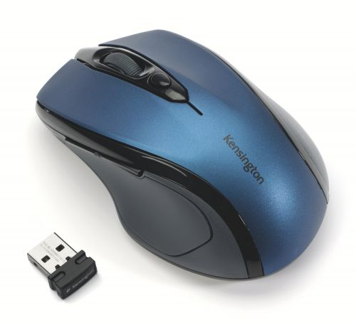 Kensington ProFit Wireless Mobile Mouse Sapphire Blue
