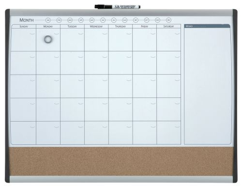 Nobo Combination Organisation Board Frame 585x430mm
