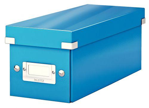 Leitz Click & Store CD Storage Box Blue 124w x 320d x 127hmm