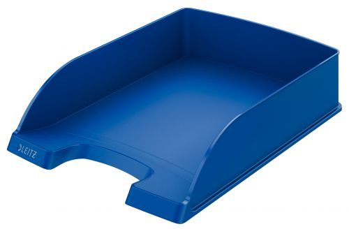 Leitz Plus Letter Tray A4 - Blue - Outer carton of 5