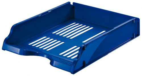 Esselte Transit A4 Letter Tray - Blue - Outer carton of 10