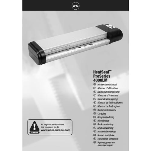 GBC HeatSeal Pro 4000 A2 Laminator IB509629