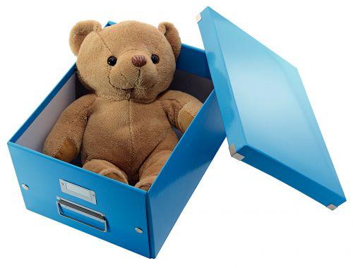 Leitz Click Store Medium Storage Box Blue 60440036