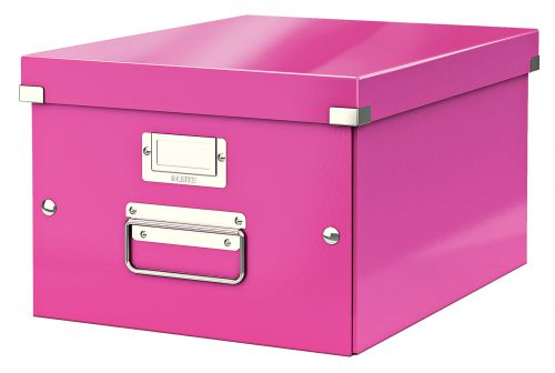 Leitz Wow Click & Store A4 Box Pink