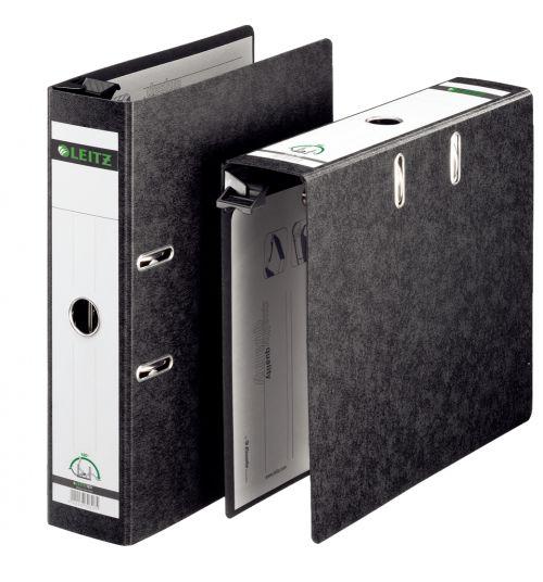 Leitz Suspension Lever Arch File  80mm Spine A4 Black PK5
