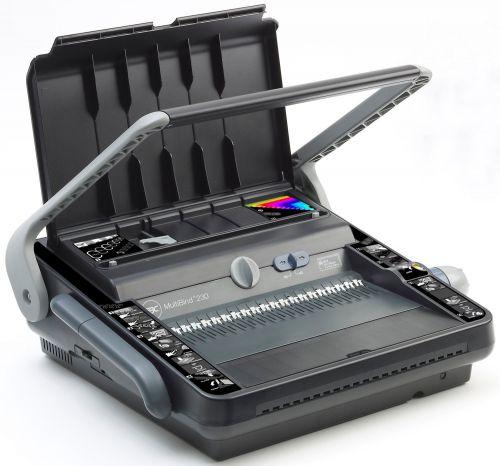 GBC MultiBind 230 Multifunctional Manual Binder 4400423