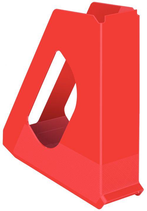 Esselte Europost VIVIDA Magazine File Standard Red - Outer carton of 10