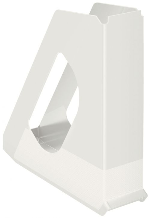 Esselte Europost VIVIDA Magazine File A4 Standard White - Outer carton of 10
