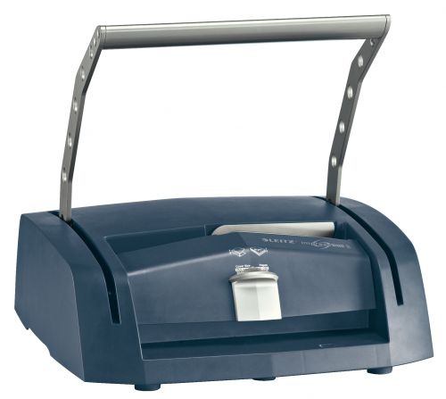 Leitz Binding Machine impressBIND 280 Metal channel binding system. Binds up to 280 sheets. A4. Silver/Blue