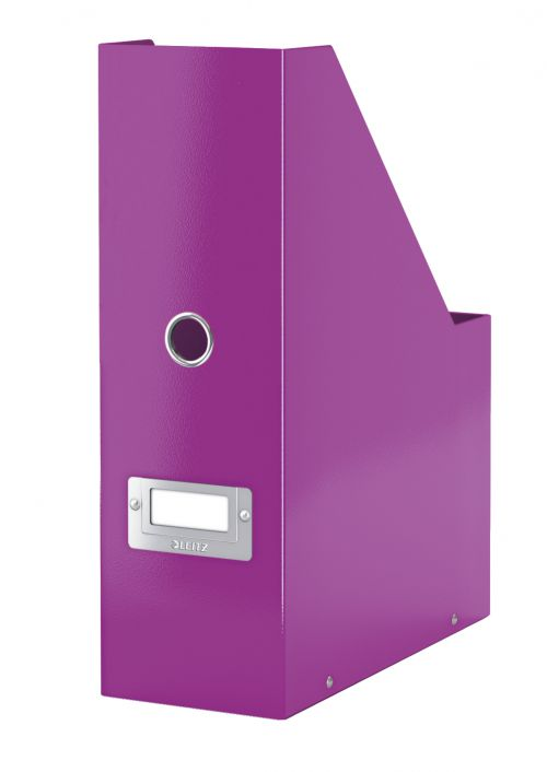 Leitz WOW Click and Store Magazine File Purple 60470062 LZ10388