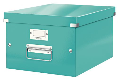 Leitz WOW Click & Store A4 Box Ice Blue