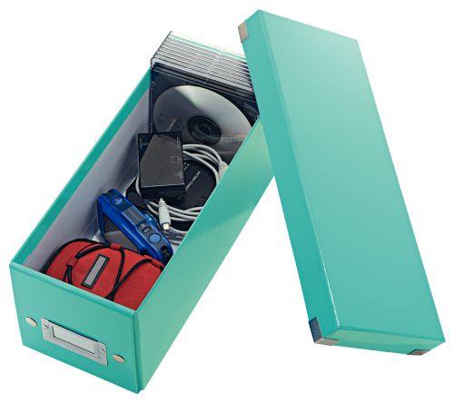 Leitz Click & Store CD Storage Box Ice blue CD/DVD Storage 22810ES