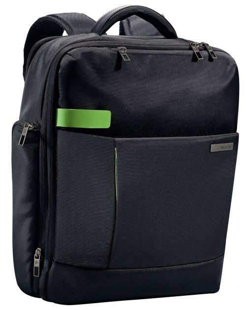 """Leitz Complete 15.6"""" Backpack Smart Traveller Black"""