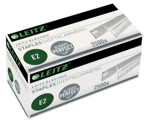 Leitz Electric e2 Staples (2500) - Outer carton of 10