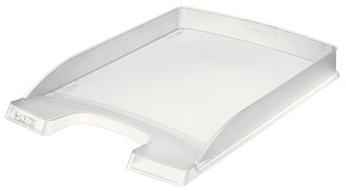 Leitz Plus A4 Slim Letter Tray - Clear - Outer carton of 10