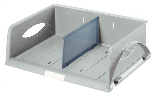 Leitz Sorty Standard Letter Tray W370xD272xH90mm - Grey - Outer carton of 4