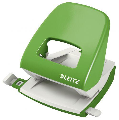 Leitz NeXXt Series Metal Office Hole Punch Light Green