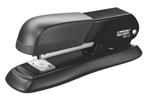 Rapid FM12 Desktop Metal Half-Strip Stapler - Black