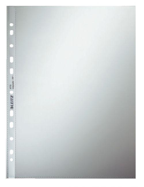 Leitz Pocket Standard A4 Polypropylene 75µ Clear (Pack 100)