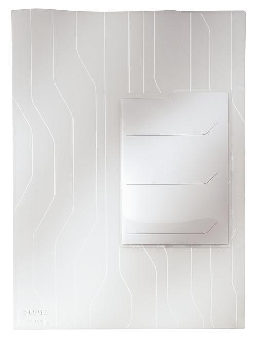 Leitz Combifile Organiser A4 Folder Clear (Pack 3)